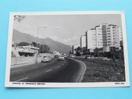 Caracas Av. Francisco Miranda ( Rifra ) Anno 1955 ( Zie Foto Voor Details ) !! - Venezuela