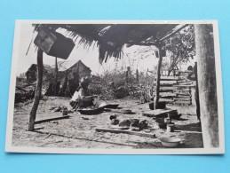 Choza Indigena / Indian Hut ( Maracaibo ) Anno 19?? ( Zie Foto Voor Details ) !! - Venezuela