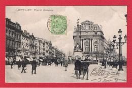 Bruxelles  --  Place De Brouchère - Marktpleinen, Pleinen