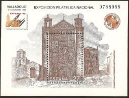 1992-ED.3222.H.B.-EXFILNA´92-IGLESIA  DE S. PABLO.VALLADOLID-NUEVO - Blocs & Feuillets