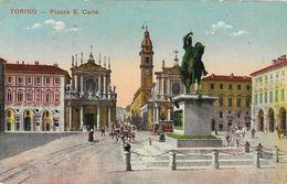 Torino - Piazza S. Carlo - Monumento Emanuele Filiberto - Places & Squares