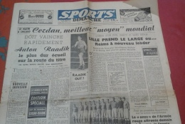 Sports Dimanche 2 Novembre 1947 Combat De Marcel Cerdan à Chicago Contre Anton Raadik - Journaux - Quotidiens