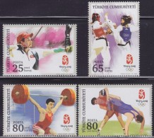 LR88. Turkey, 2008, XXIX Summer Olympic Games In Beijing, MNH (**) - 1921-... République