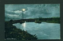 ENGLAND  -  Ludham Bridge  Used Vintage Postcard As Scans - England