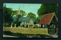 ENGLAND  -  Foots Cray Church  Used Vintage Postcard As Scans - Other