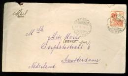 NEDERLANDS INDIE * BRIEFOMSLAG Uit 1933 Van BATAVIA Naar AMSTERDAM (10.446d) - Niederländisch-Indien