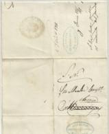 España. Año 1867. Carta Con Marca En Negro De La Alcaldía Constitucional De Torrejoncillo - Brieven En Documenten