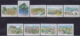 LR89. Turkey, 2008, Turkish Regions 2nd Issue Complete, MNH (**) - 1921-... République