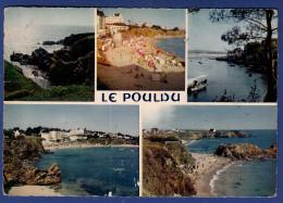 29 LE POULDU Les Plages, La Rivière Et Les Falaises 5 Vues - Animée - Le Pouldu