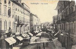 Ventimiglia - Via Cavour - Tramway - Ed. G. Gallo - Imperia