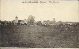 CPA De ESCANDOLIERES - Vue Générale. - Autres Communes