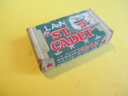 "Paquet De 4 Lames De Rasoir/Marque"" STAR CADET""/ Made In USA / 5 Lames Vers 1930 - 1950   PARF88 - Lames De Rasoir"