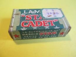 "Paquet De 4 Lames De Rasoir/Marque"" STAR CADET""/ Made In USA / 5 Lames Vers 1930 - 1950   PARF89 - Razor Blades"