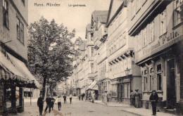 HANN MÜNDEN  -  LANGESTRASSE -  Décembre 1914  -  BELLE ANIMATION - Allemagne