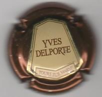 CAPSULE DE CHAMPAGNE DELPORTE YVES N° 15 D CTR MARRON METALISE COTE 2.00 EURO - Sonstige