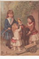 "Belle Image  "" Enfants,jouets... ""  13 X18 Cm - Trade Cards"
