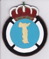 AUTOMOBILE CLUB DE GREECE - CHAPA METALICA ESMALTADA DE COCHE - AÑ0 1950/60 - DIAMETRO 7,5 CMS - Automotive