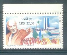 BRESIL BRASIL BRAZIL  YVERT NR. 2134 MNH AÑO 1993 HOMMAGE A ULYSSES GUIMARAES (1916-1922) POLITIQUE MNH TBE