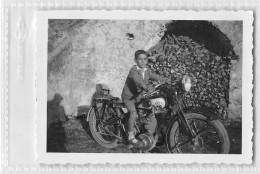 "05337 ""MOTOCICLETTA NSU ANNI '30 - NSU BIKE YEARS '30"" ANIMATA. FOTOGRAFIA ORIGINALE - Moto"