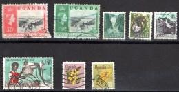 OUGANDA UGANDA  Petit Lot De Timbres Voir Scan Recto Et Verso - Ouganda (1962-...)