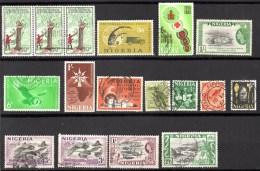 NIGERIA  Petit Lot De Timbres Voir Scan Recto Et Verso - Nigeria (1961-...)