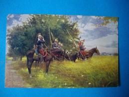 SCENE MILITAIRE  -  Cavalerie  -  LES DRAGONS  - - Guerres - Autres