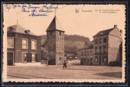 ANDENELLE - ANDENNE - Tour De L ´ Eglise Et Maison Espagnole . Vers ANDENNE édit. Parmentier - Andenne