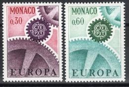 MONACO 1967  SERIE N° 729 ET 730 2 TP NEUFS ** - Nuovi