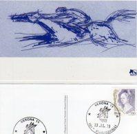 VERONA  - 1999 -101° FIERACAVALLI - Unione Nazionale Allevatori Galoppo - (1) - Cavalli