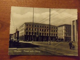 Cartolina  BERGAMO  Circolata  1956 - Bergamo