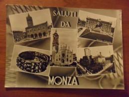 MONZA   Vedutine  Circolata  1961 - Monza