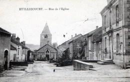 Haute-Marne (52) HUILLIECOURT (52) Rue De L'église - Otros Municipios