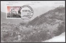 Switzerland Bellinzona 2003 / Bellinzona Castle - Castles