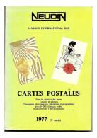 CATALOGUE NEUDIN 1977   Rare Dedicace Manuscrite De  NEUDIN , Tres Bon Etat - Livres