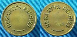 03345 GETTONE TOKEN JETON AUSTRALIA TRANSPORT HEGARTY'S FERRIES - Jetons En Medailles