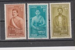 Yvert 130 / 132 ** Neuf Sans Charnière - Népal