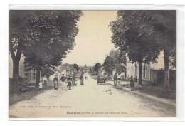 CPA 72 - BOULOIRE - ENTREE PAR LA ROUTE DU MANS - Bouloire