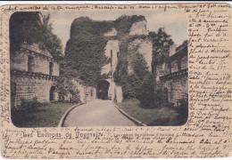 Antoing 1900 Henegouwen Hainaut  Le Château Les Ruines Du Chateau D'Antoing CPA Les Environs De Tournai - Antoing