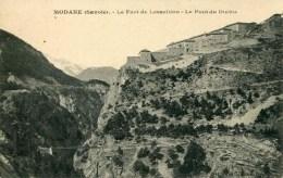 MODANE - Le Fort De Lesseillon - Le Pont Du Diable - Modane
