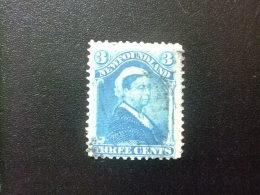 NEWFOUNDLAND TERRANOVA  TERRE NEUVE 1880 Reine Victoria Yvert Nº 37 º FU - Newfoundland