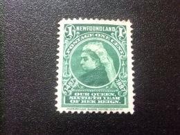NEWFOUNDLAND TERRANOVA  TERRE NEUVE 1897  60 º Aniversario De La Reina Victoria Yvert Nº 48 * MH - Newfoundland