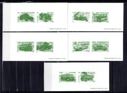 """5 Gravures Officielles De 2003 N° YT BF 63  """" VEHICULES UTILITAIRES ET GRANDE ECHELLE """" En Parfait état. - Transporte"""