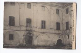 CPA ITALIE - CHIOMONTE - Antico Vescovado ( Casa Beraud ) TB PLAN EDIFICE Cour Intérieure - Italie
