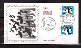 FRANCE : A SAISIR Lot N° 2 De 50 Enveloppes 1er Jour DIFFERENTES En Soie De 1999 à 2001. Parfait état (mais Fermées) FDC - Timbres