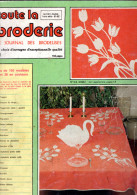 TOUTE LA BRODERIE 1983 JOURNAL DES BRODEUSES 104 Pages SACS PRENOMS BAVOIRS ROBES ANIMAUX - Cross Stitch