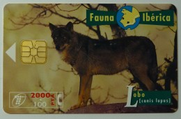 SPAIN - Chip - 2000+100 Units - B-047 - Fauna Iberica I - Used