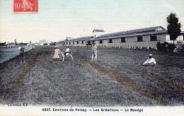 Environs De Poissy - Les Grésillon - Le Manège En 1907 - Poissy