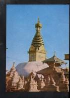 Q1010 Swoyambhunath Stupa - Courtesy: K.P. PRADHAN - WRITED - Cartoline