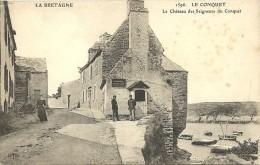 """LE CONQUET, Série """"la Bretagne"""" ELD, Le Château Des Seigneurs Du Conquet - Le Conquet"""