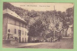 CHAMOUX SUR GELON : Place De La Poste. 2 Scans. Edition ABEM Jolis Coins De Savoie - Chamoux Sur Gelon